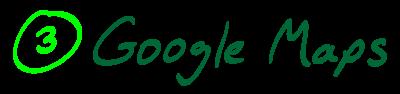 3) Google Maps