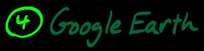 4) Google Earth