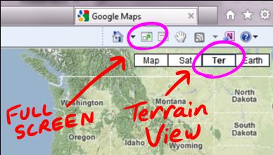 Google Maps browser screenshot