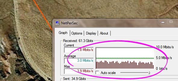 NetPerSec screenshot