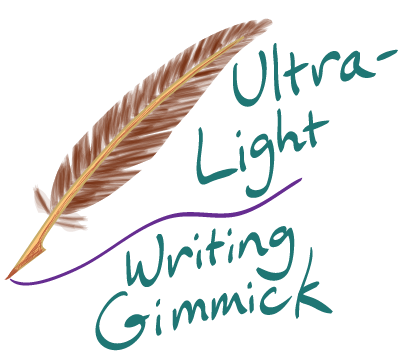 Ultralight writing gimmick