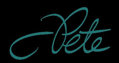 Pete's Signature